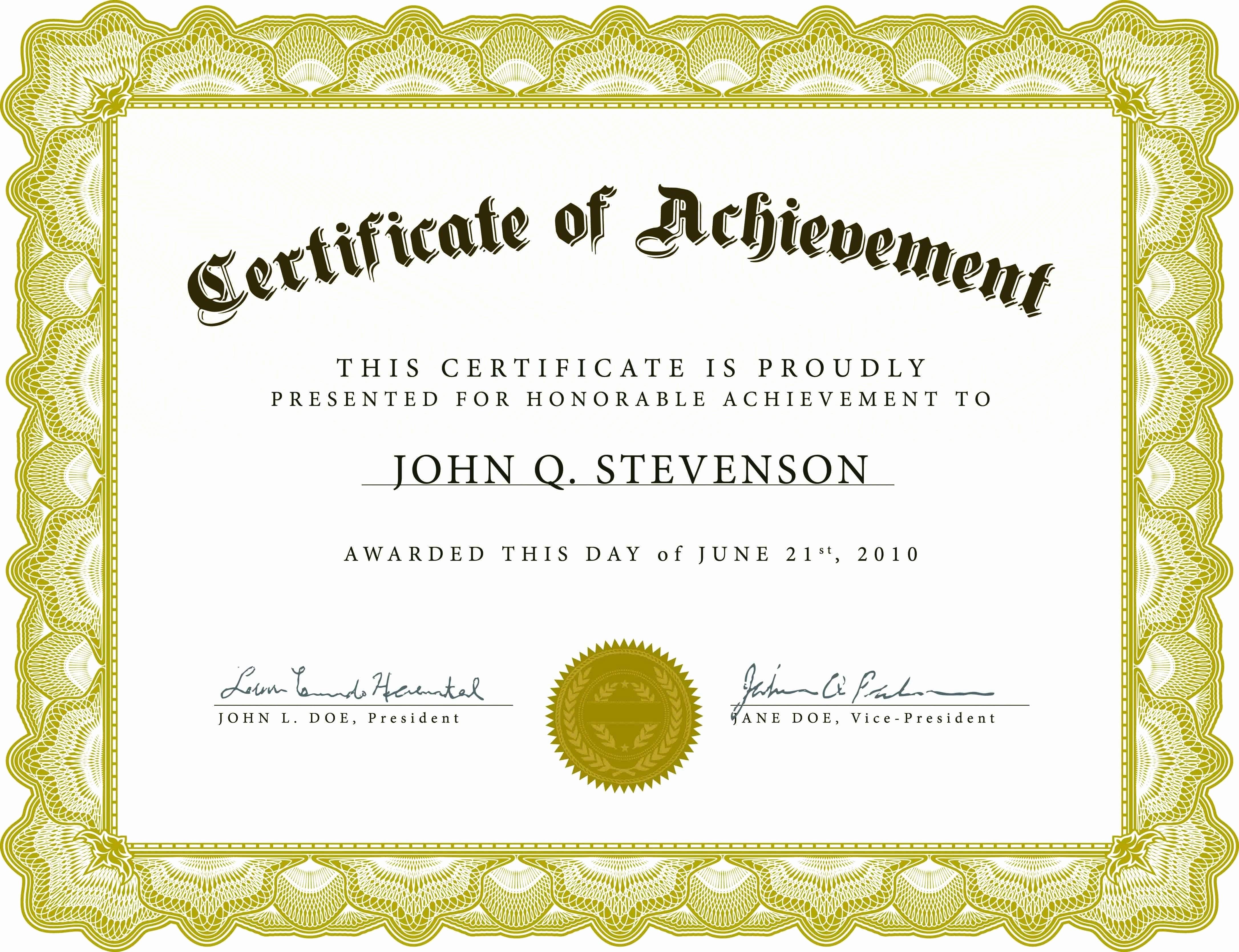 Microsoft Publisher Award Certificate Templates Best Of Award Certificate Template Publisher for Award Certificate