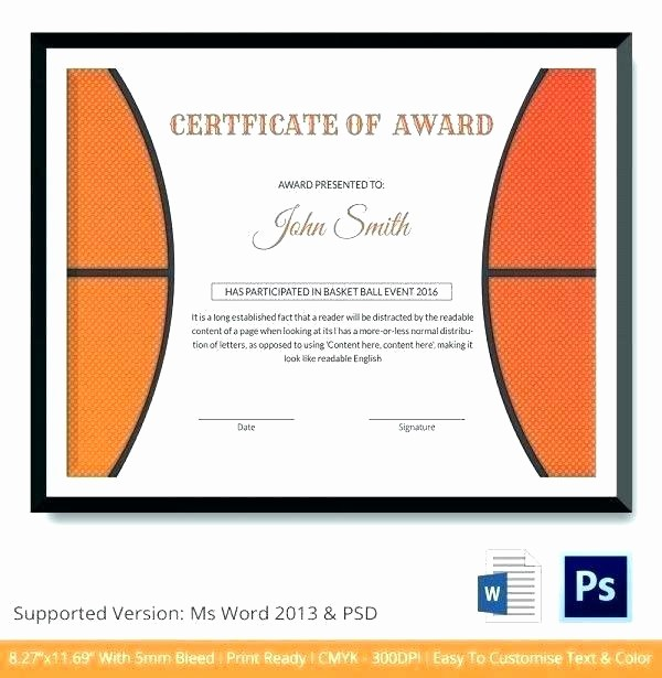 Microsoft Publisher Award Certificate Templates Fresh Ms Office Certificate Template – Hedonia