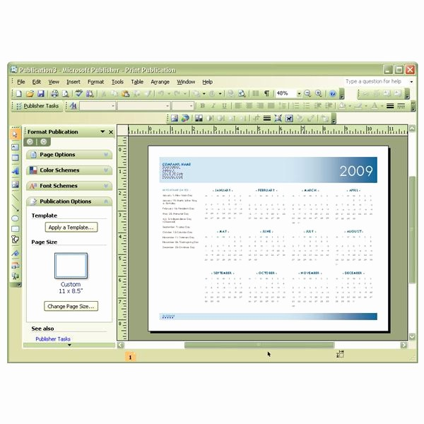 Microsoft Publisher Template Free Download Best Of Download and Use Free Microsoft Publisher Calendar Templates