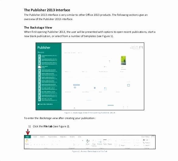 Microsoft Publisher Template Free Download Elegant 50 Best Brochure Template Fice
