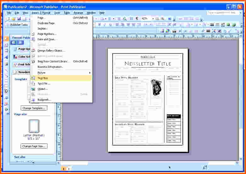 Microsoft Publisher Template Free Download Unique Download Free Templates In Publisher 2003 Blackraven