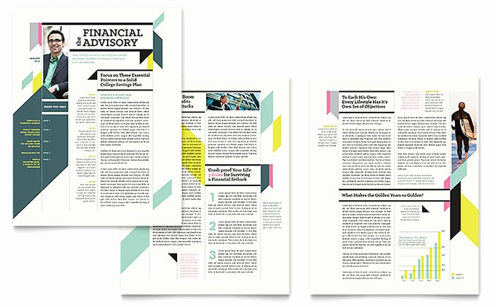 Microsoft Publisher Templates Free Downloads Inspirational Personal Finance Newsletter Template Word & Publisher