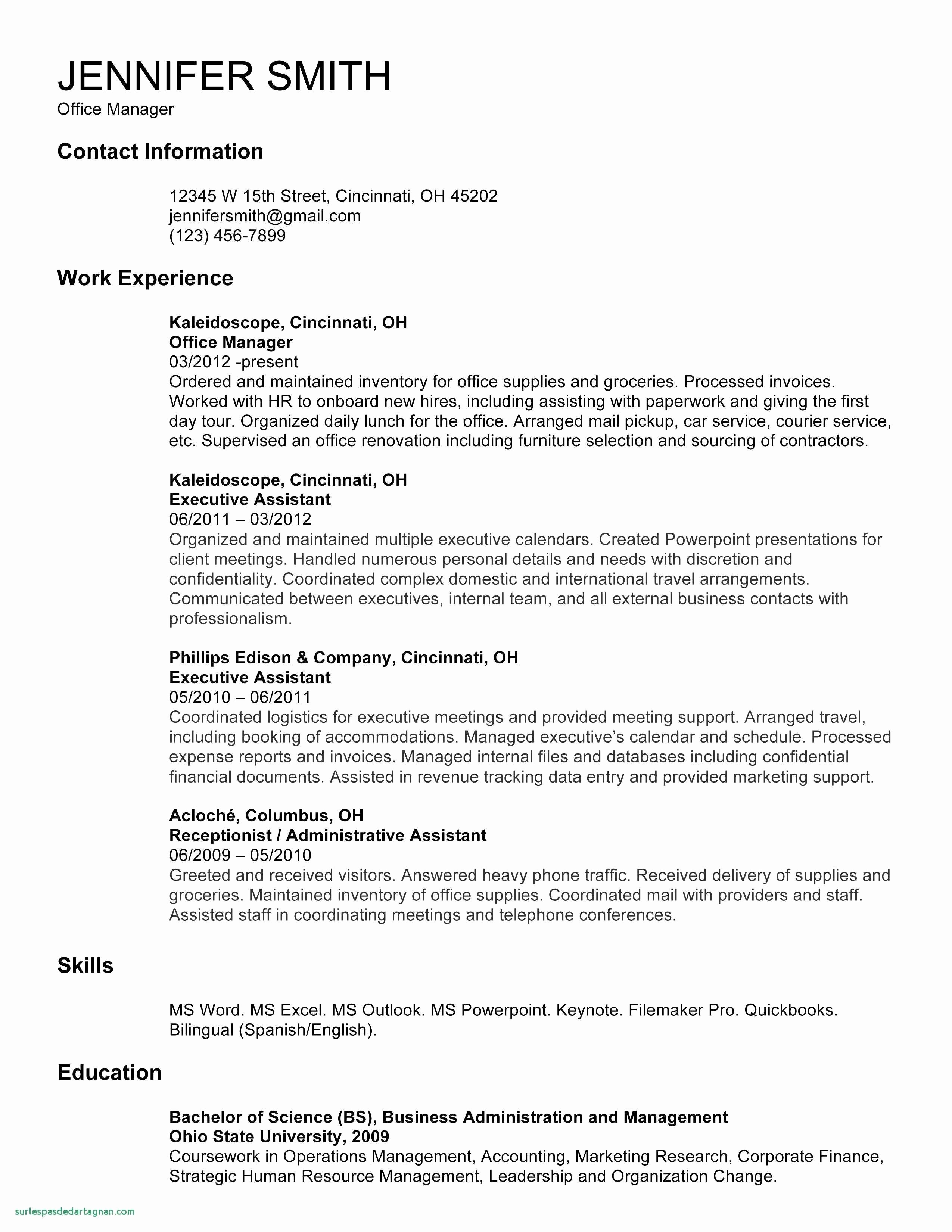 Microsoft Resume Templates Free Download Fresh Fresh Free Resume Template Microsoft Word