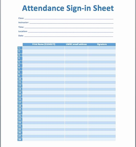 Microsoft Templates Sign In Sheet Awesome 10 Best Ideas About attendance Sheet Template On Pinterest