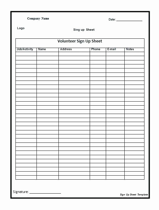 Microsoft Templates Sign In Sheet Best Of Club Sign Up Sheet Template Word Free In – Onairprojectfo