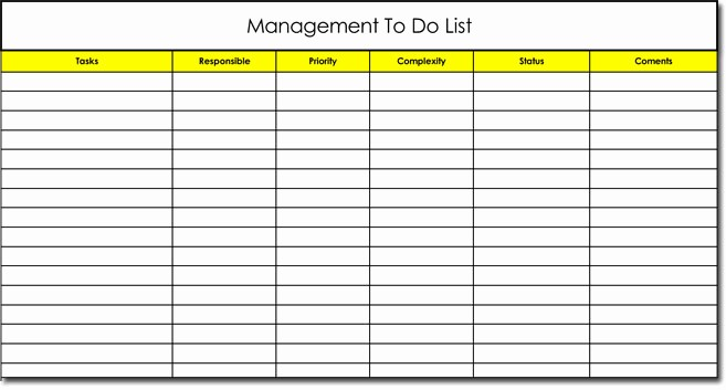 Microsoft to Do List Template Fresh Free to Do List Templates with Guide to Make Your Own