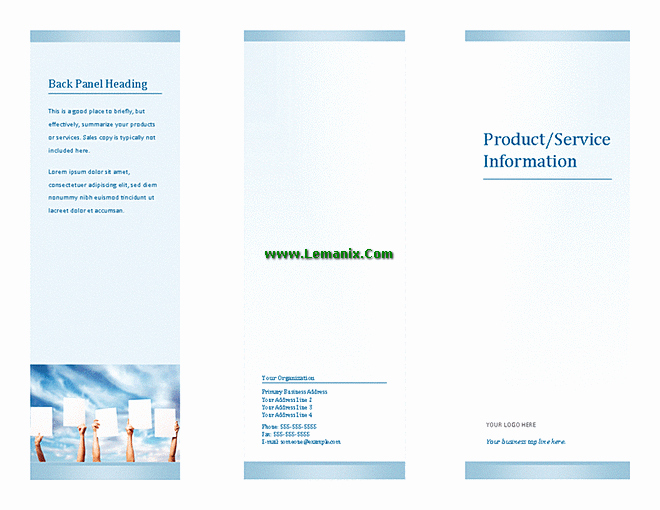 Microsoft Tri Fold Brochure Template Awesome Microsoft Publisher Templates Tri Fold Brochure for