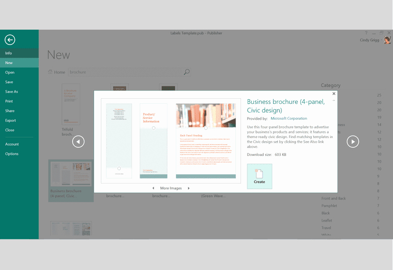 Microsoft Tri Fold Brochure Template Beautiful Free Design Templates and Printables for Microsoft