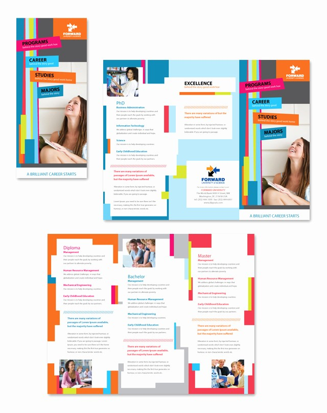 Microsoft Tri Fold Brochure Template Beautiful Free Tri Fold Brochure Templates Microsoft Word Csoforum