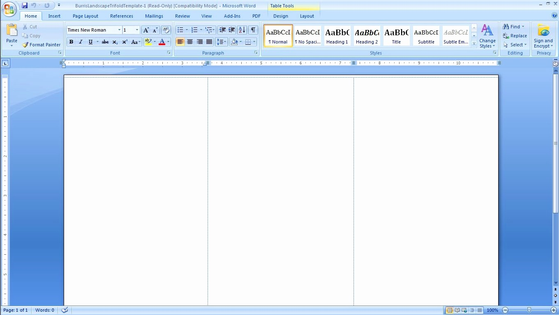 Microsoft Tri Fold Brochure Template Fresh Brochure Templates Word Mughals