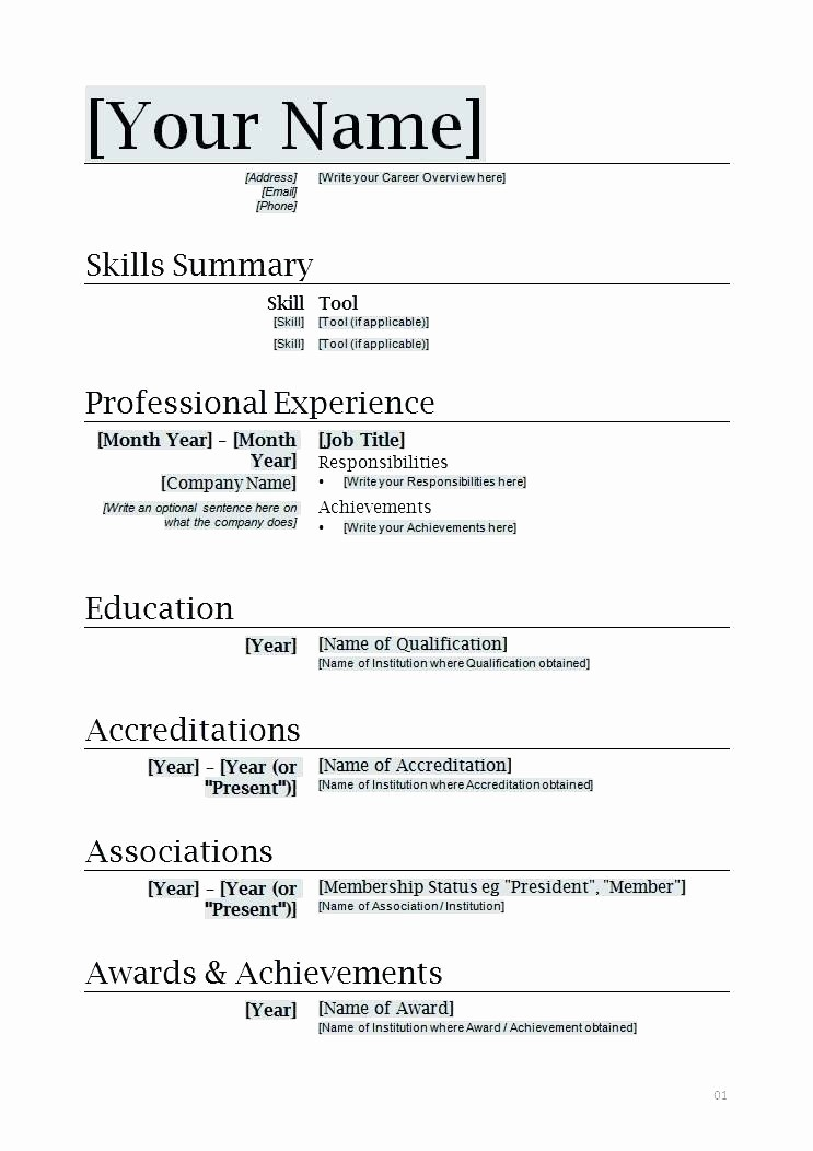 Microsoft Word 2003 Resume Templates Best Of Resume Template Microsoft Fice Word 2003