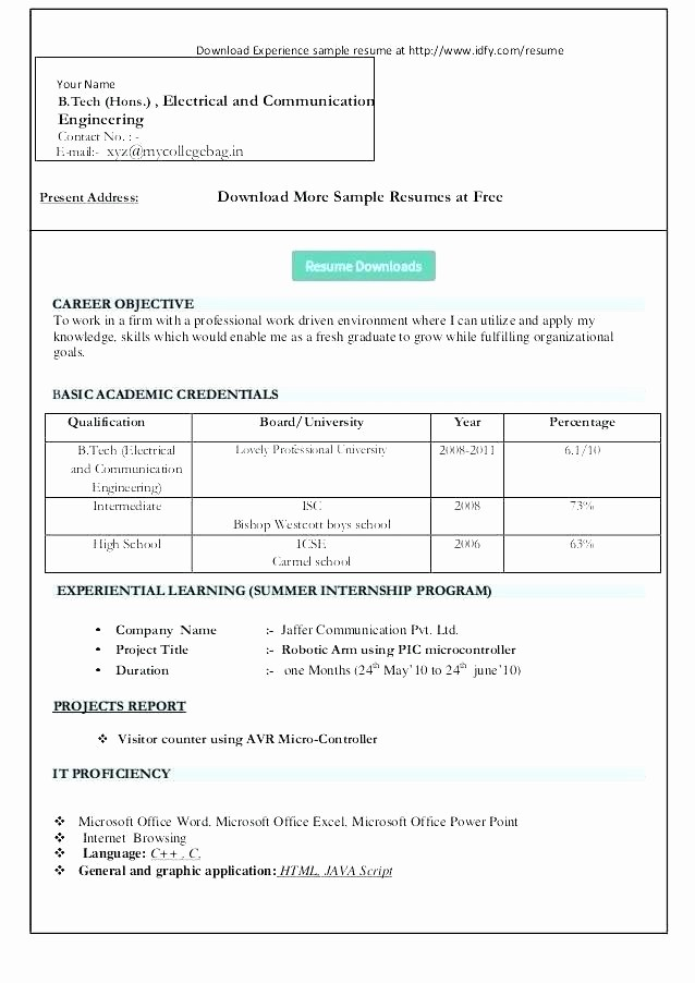 Microsoft Word 2003 Resume Templates Elegant Resume Templates Microsoft Word 2003 Nfljerseysweb