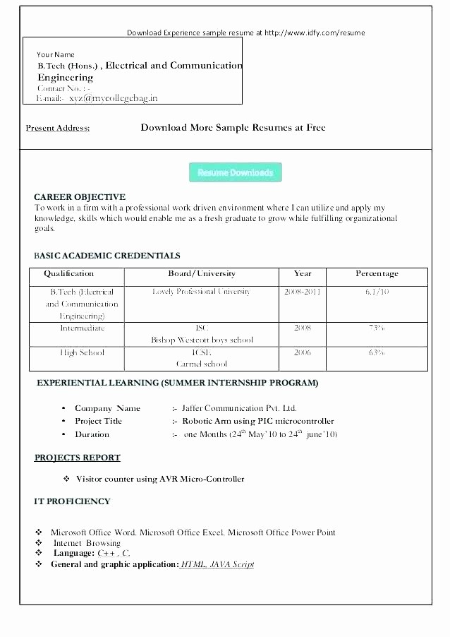 Microsoft Word 2003 Resume Templates Fresh Resume Templates Microsoft Word 2003 – Resume Pro