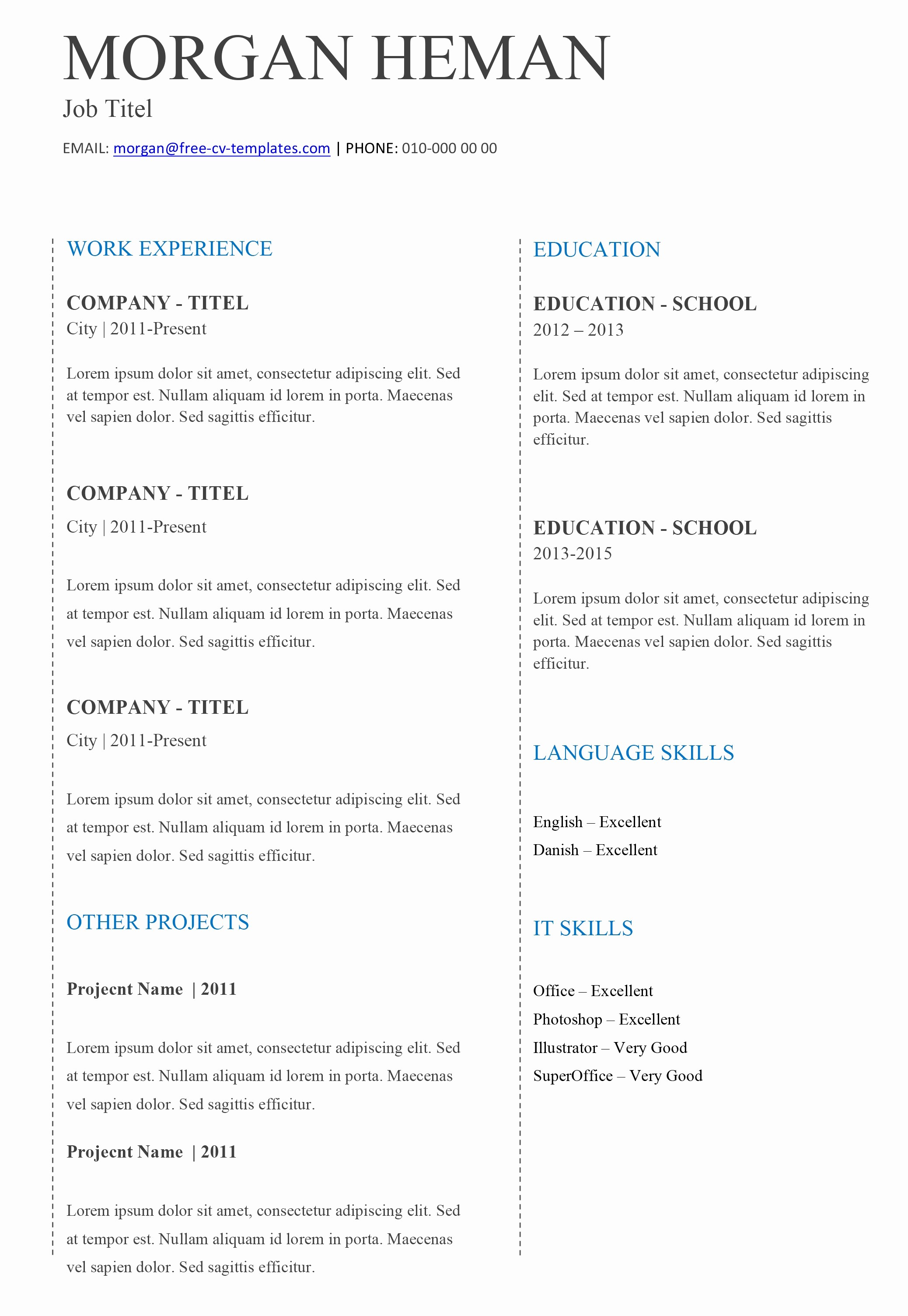 Microsoft Word 2003 Resume Templates Luxury Microsoft Word 2003 Resume Templates Inspirational 5