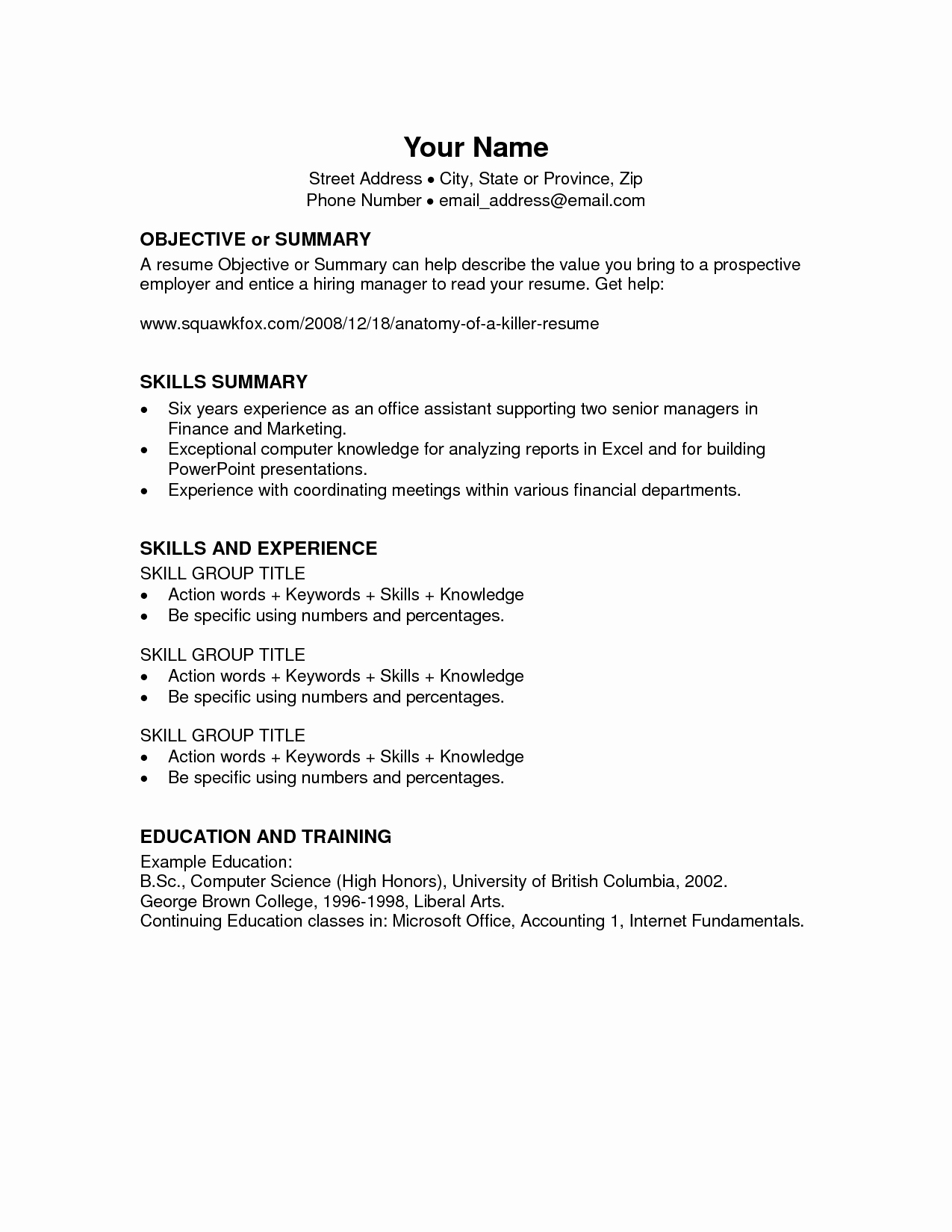 Microsoft Word 2003 Resume Templates Unique Microsoft Fice Resume Templates