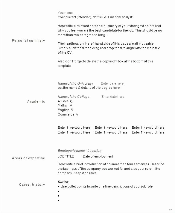 Microsoft Word 2003 Resume Templates Unique Template