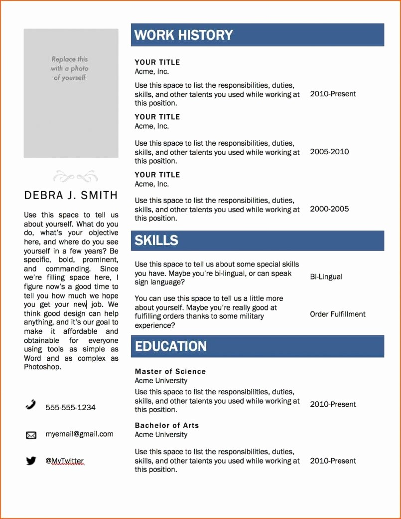 Microsoft Word 2007 Resume Template Awesome Resume Templates Microsoft Word 2007 Best Resume