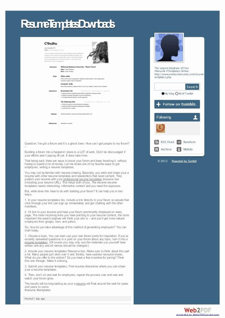 Microsoft Word 2007 Resume Templates Fresh Utilizing Free Resume Templates In Microsoft Word 2007