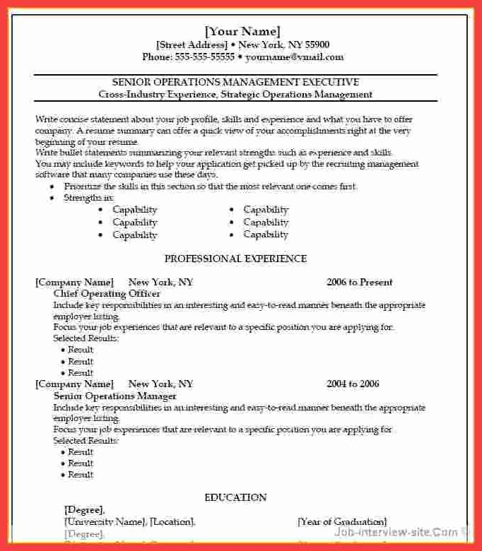 Microsoft Word 2010 Resume Templates Awesome Resume Microsoft Word 2010