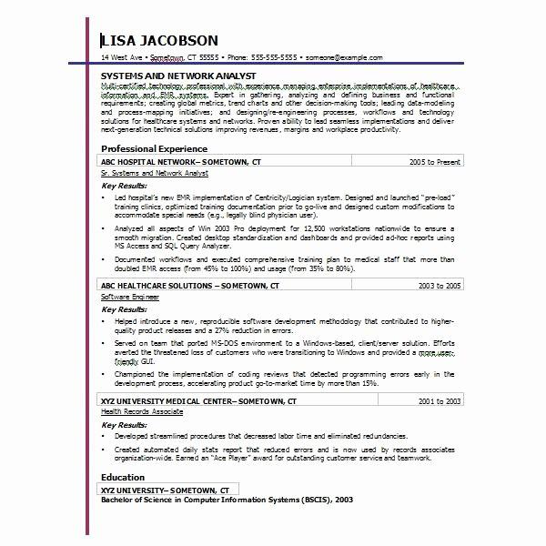 Microsoft Word 2010 Resume Templates Inspirational Resume Template Microsoft Word 2010