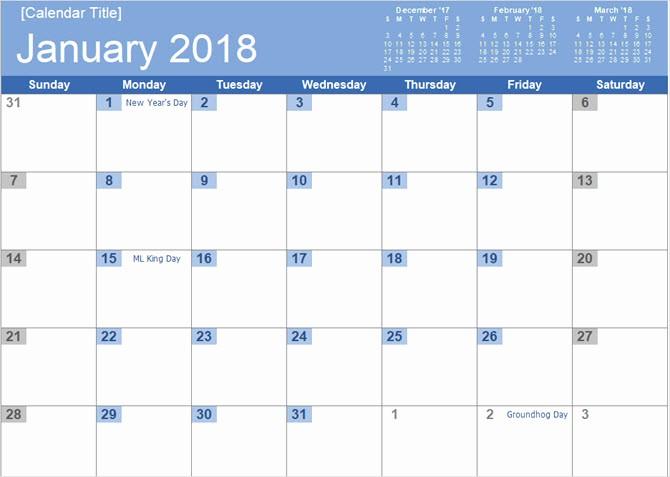 Microsoft Word 2018 Calendar Templates Best Of the Best Free Microsoft Fice Calendar Templates for the