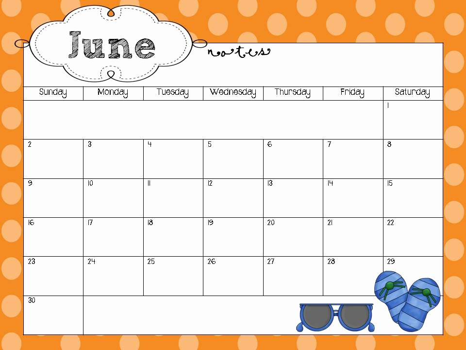 Microsoft Word 2018 Calendar Templates Elegant Printable Monthly Calendars 2016 with Border