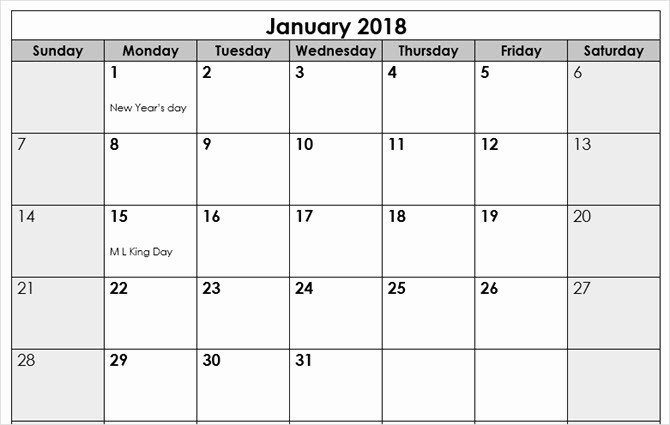 Microsoft Word 2018 Calendar Templates Elegant the Best Free Microsoft Fice Calendar Templates for