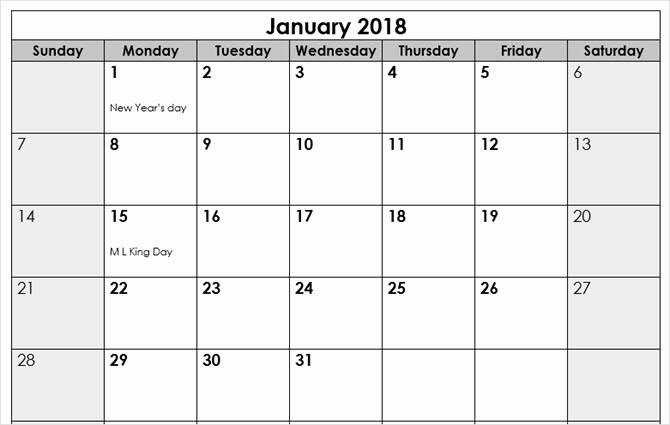 Microsoft Word 2018 Calendar Templates Elegant the Best Free Microsoft Fice Calendar Templates for