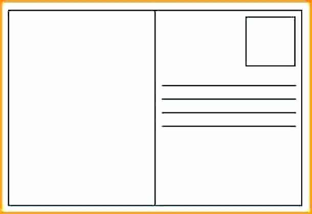 Microsoft Word 4x6 Card Template New 4×6 Card Template for Word Postcard Free Recipe Templates