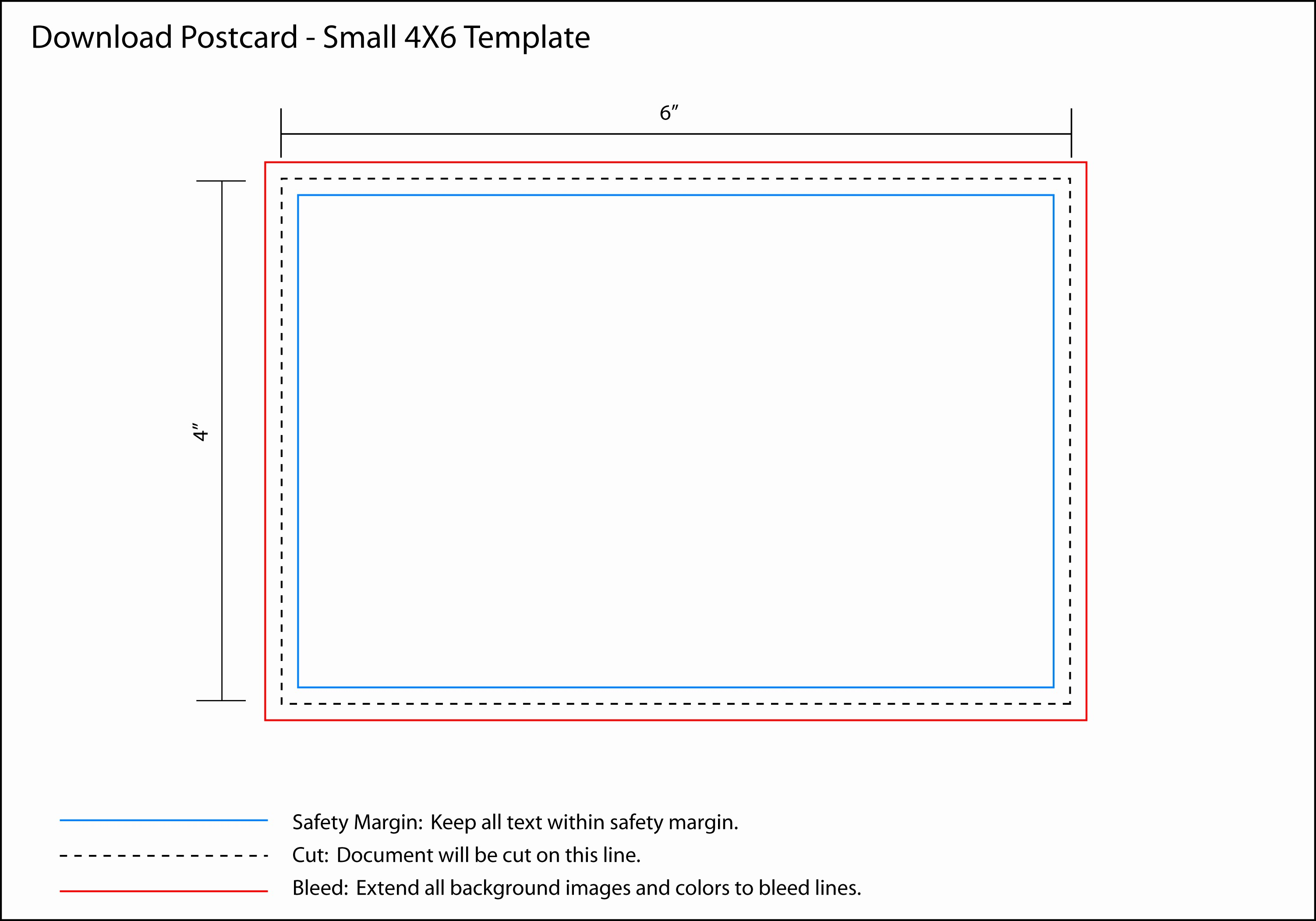Microsoft Word 4x6 Card Template New 4x6 Postcard Template Word Bing Images