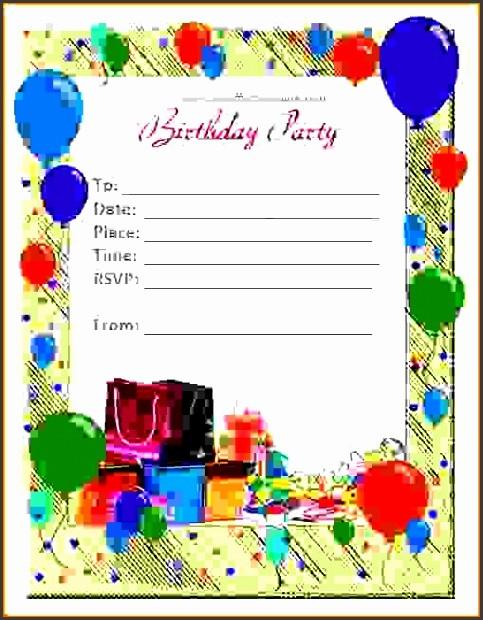Microsoft Word Birthday Card Templates Elegant 6 Ms Word Birthday Card Template Sampletemplatess