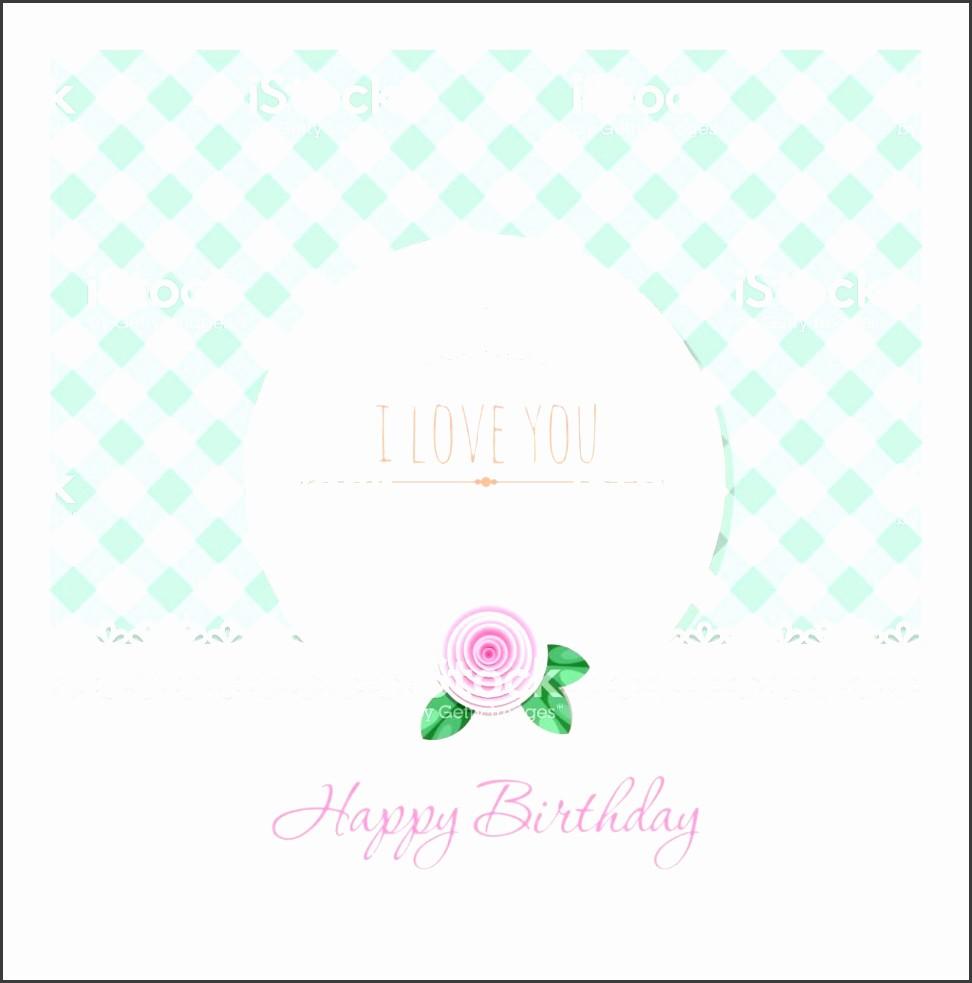 Microsoft Word Birthday Card Templates Inspirational 8 Birthday Greeting Card Template Sampletemplatess