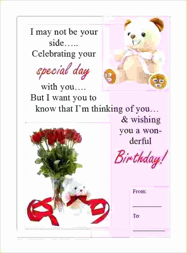 Microsoft Word Birthday Card Templates Inspirational Blank Greeting Card Template Microsoft Word Templates for