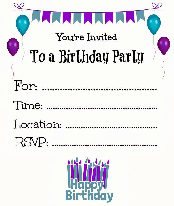 Microsoft Word Birthday Card Templates Unique Birthday Invitation Templates Birthday Invitation