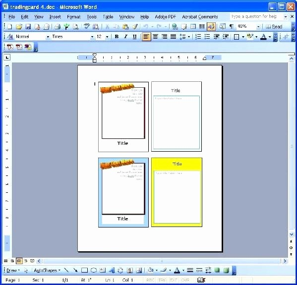 Microsoft Word Birthday Card Templates Unique Blank Greeting Card Template Microsoft Word Templates for