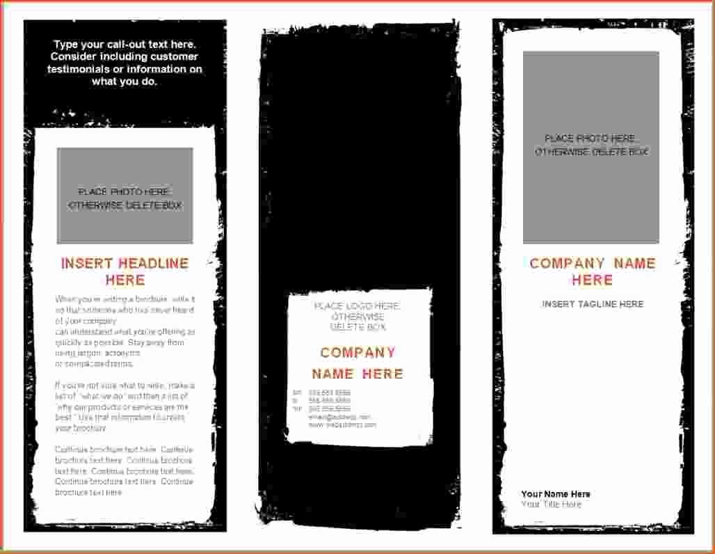 Microsoft Word Brochure Template Download Best Of 8 Microsoft Word Brochure Template Bookletemplate