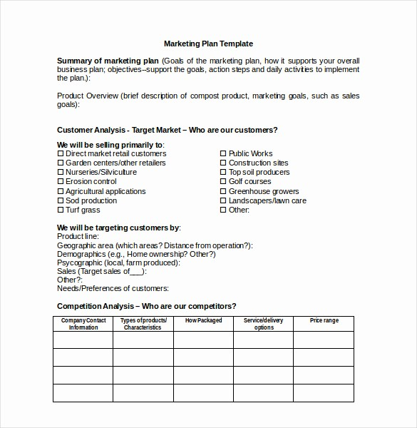 Microsoft Word Business Letter Templates Beautiful Marketing Plan Template Word