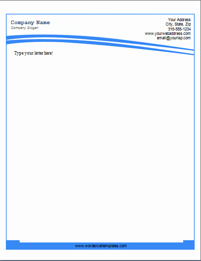 Microsoft Word Business Letter Templates Beautiful Ms Word Business Letterhead Templates