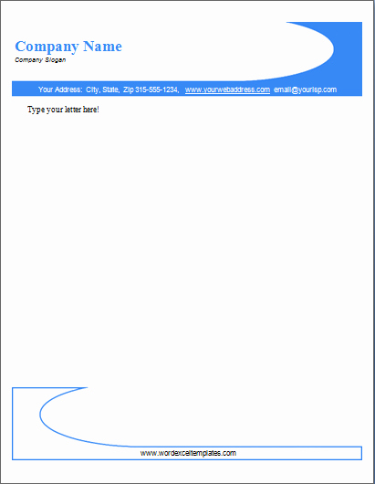 Microsoft Word Business Letter Templates Luxury Ms Word Business Letterhead Templates
