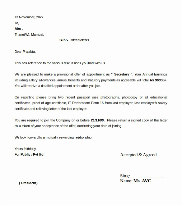 Microsoft Word Business Letter Templates New 31 Fer Letter Templates – Free Word Pdf format