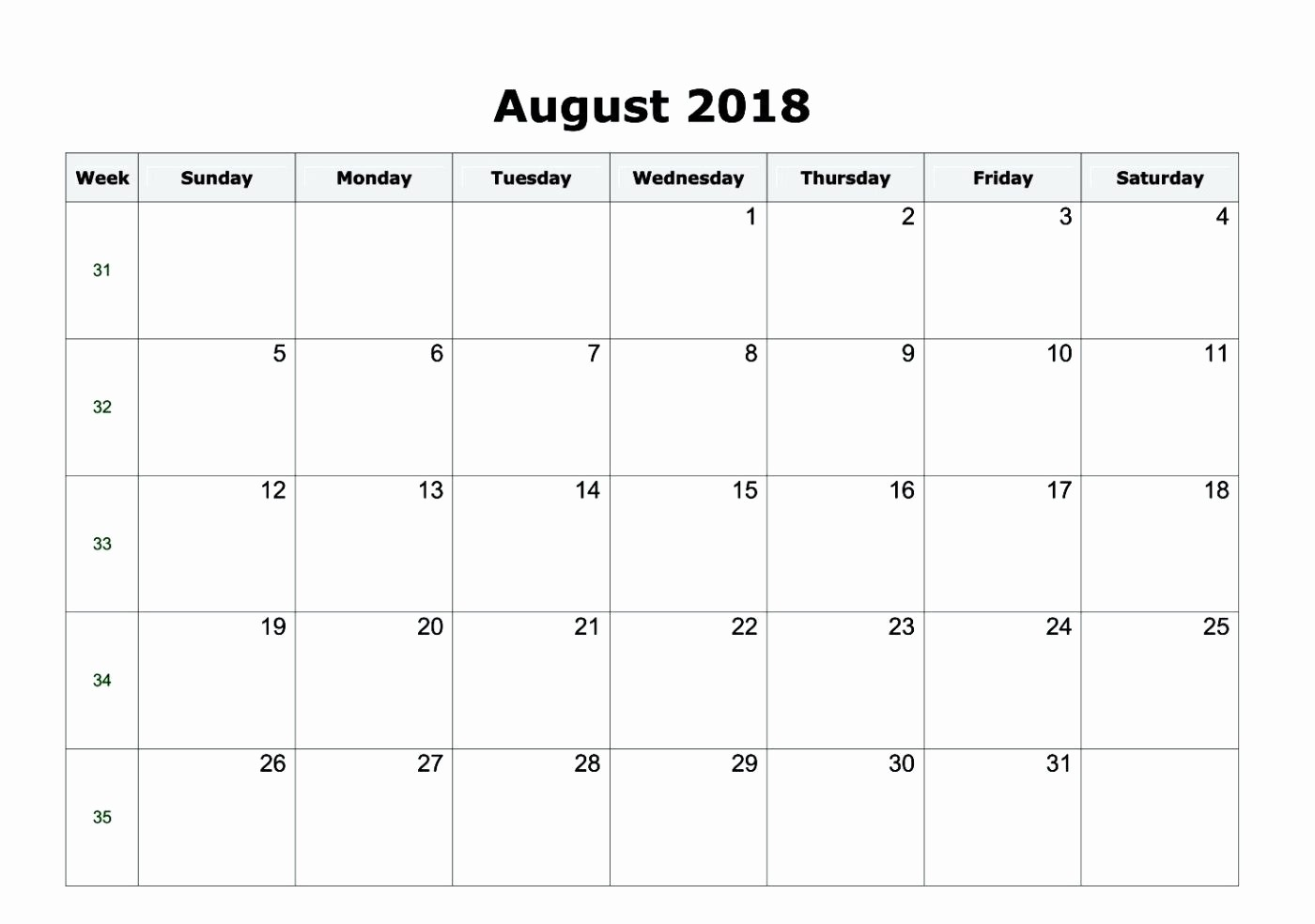 Microsoft Word Calendar Template 2018 New Microsoft Fice Calendar Template 2018 Microsoft Fice