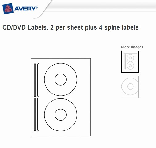 Microsoft Word Cd Label Template Awesome Avery Templates Cd Labels
