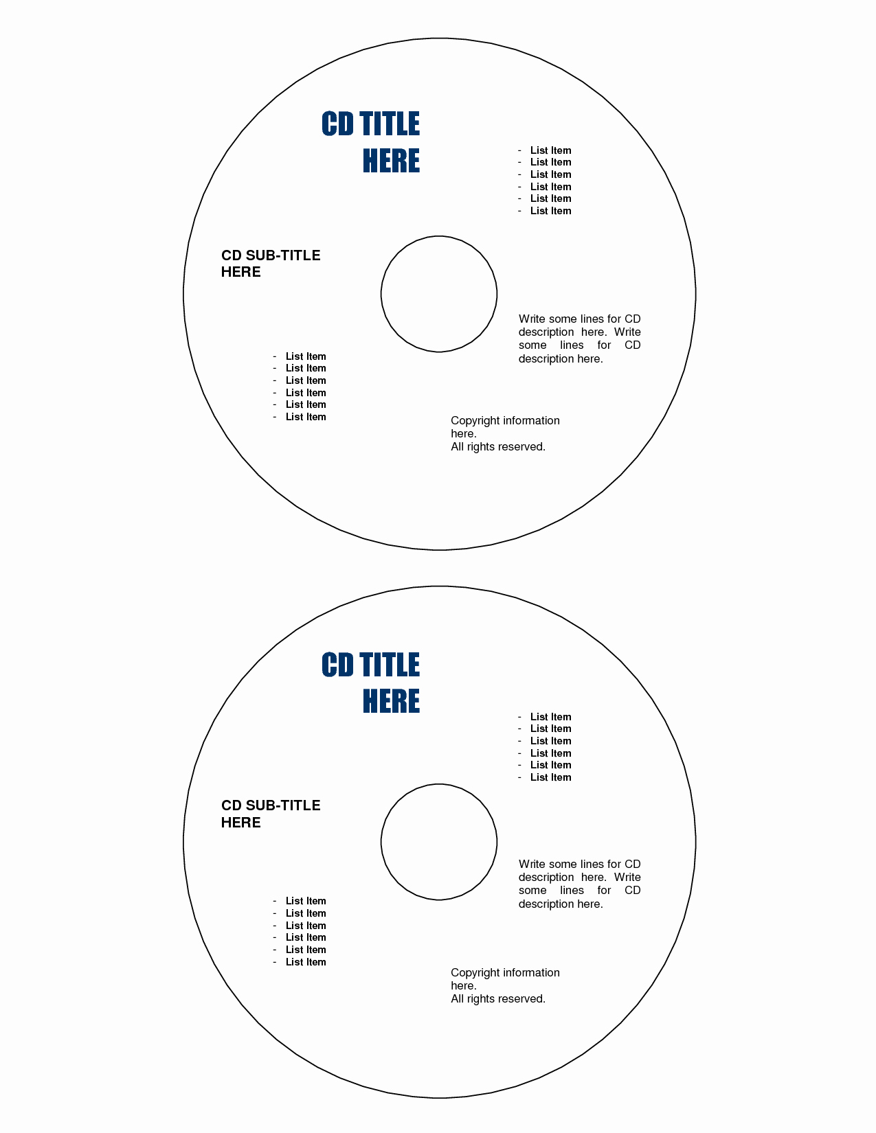 Microsoft Word Cd Label Template Best Of Best S Of Cd Label Template Word Free Cd Label