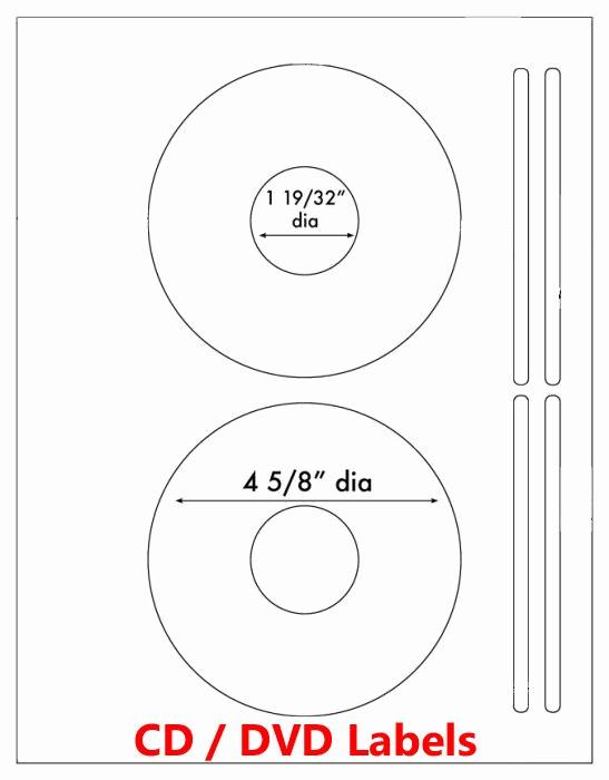 Microsoft Word Cd Label Template Fresh 200 Laser and Ink Jet Labels Cd Dvd Laser 100 Sheets Same