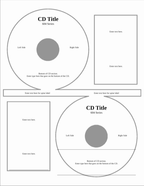 Microsoft Word Cd Label Template Inspirational Cd Label Template