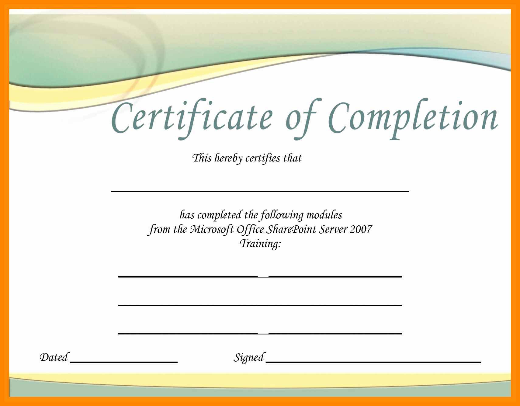 Microsoft Word Certificate Template Free Beautiful Downloadable Certificate Templates for Microsoft Word