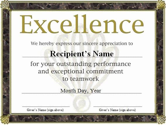 Microsoft Word Certificate Template Free Best Of Free Funny Award Certificates Templates