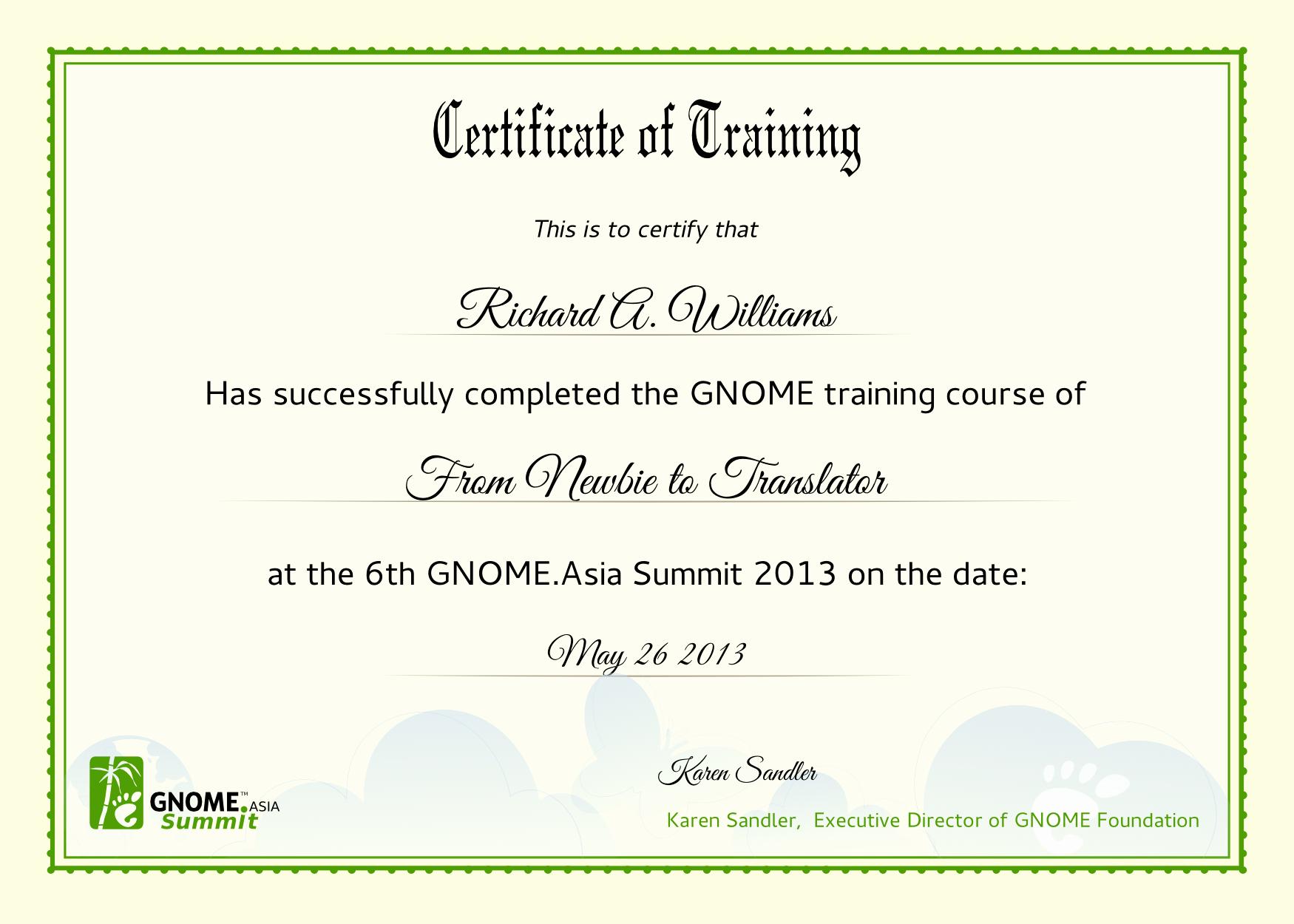 Microsoft Word Certificate Template Free Lovely 10 Best Of Training Certificate Wording Training