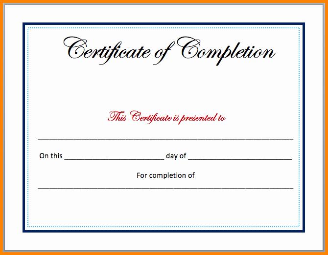 Microsoft Word Certificate Template Free Lovely 7 Certificate Templates Microsoft Word
