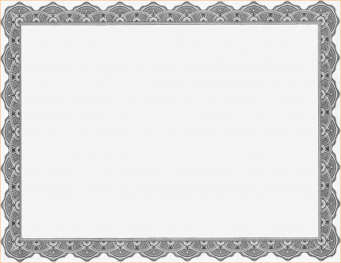 Microsoft Word Certificate Template Free New Borders for Certificate Templates Free Download